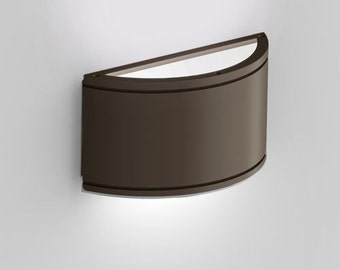 Wall Sconce, Bronze Indoor/ Outdoor LED Up/Down Wall Sconce