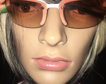 Liz Claiborne White Sunglasses