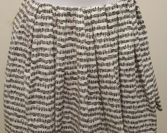Music Note Skirt w/ Pockets