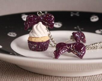 Cupcake bow set