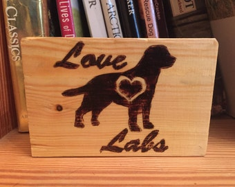 Love Labs Sign