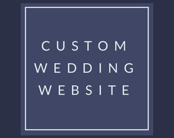 Wedding Website - Wix - Website Design