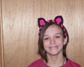 Cheshire Cat Ears Headband