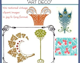 Art Deco clipart collecion 1