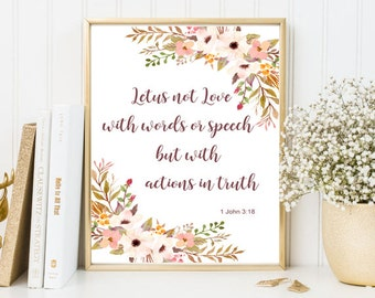 Bibele quote, print bible verse, bible verse print, john 3:18, Framed quotes, Printable quotes, Wall art quotes, Motivational quotes
