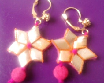 hand made gotta earrings