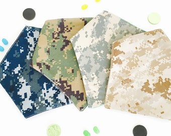 Armed Forces Bandana Bib