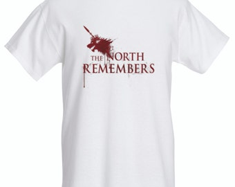 The North remembers - T shirt - Game of thrones