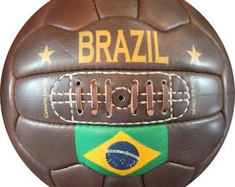 Brazil - Vintage Soccer Ball