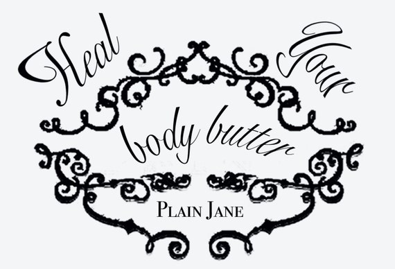 Heal Your Body Butter - Plain Unscented