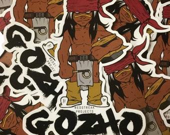 Gozho stickers