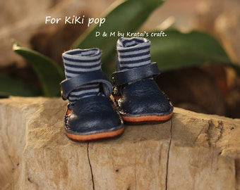 Mary Jane shoes for Kikipop Color Navy