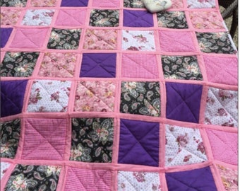 Quilt quilt quilt quilt sleeve pink gift