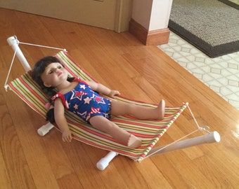 Hammock for American Girl Doll