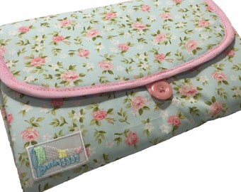 Baby Diaper Changing Pad - Floral