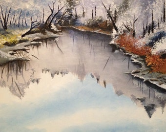 "Acrylic Painting 16""x20"""