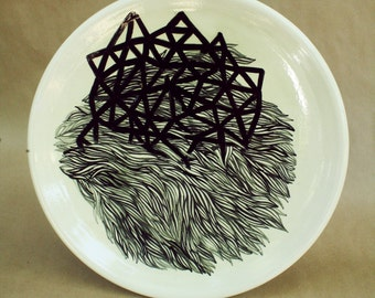 big ceramic bowl drawing
