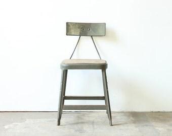 Industrial Metal Frame Chair