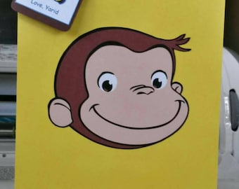 Curious George themed Favor bags