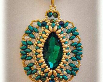 Emerald pendant ...