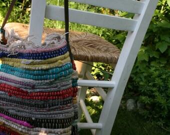Shoulder bag - handbag - S stain BACK - rug