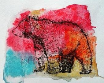 bear 2 (9x12)