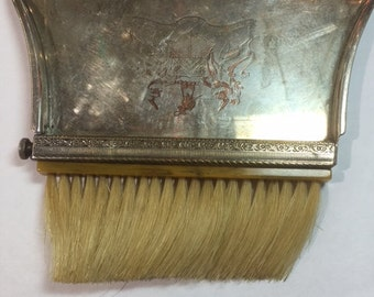 Vintage Butler Comb Brush Dust Pan