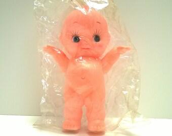 Vintage Kewpie style plastic vinyl 7 inch doll