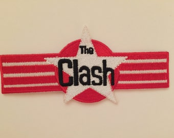 The Clash embroidered patch