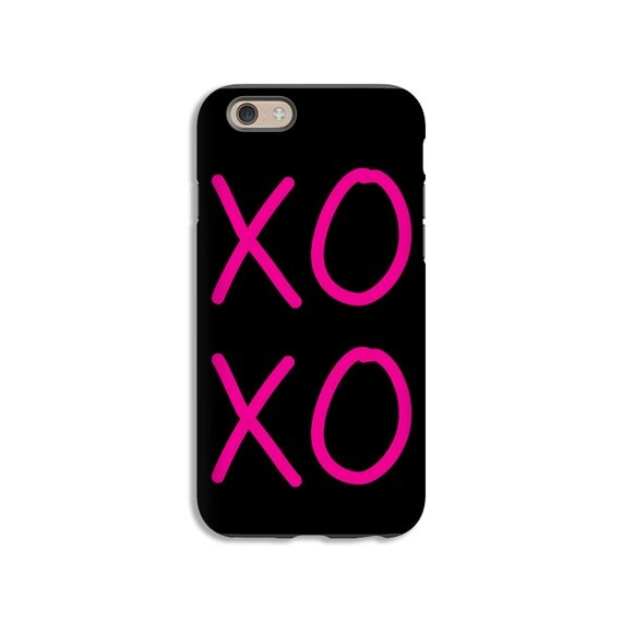 iphone 7 case pink xo iphone 7 plus case iphone cases for. Black Bedroom Furniture Sets. Home Design Ideas