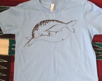 Narwhal Beluga T-shirt