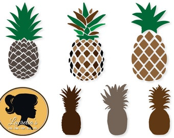 pineapples, dxf, pineapples clipart, SVG files for Silhouette Cameo or Cricut, pineapples logo, pineapples,vector, svg, dxf eps