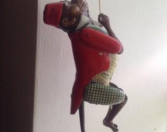 Climbing monkey monkey old toy Lehmann
