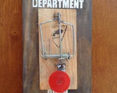 Complaint Department Mouse Trap Sign