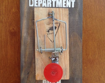 Complaint Department Mouse Trap Sign