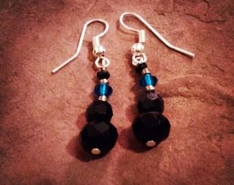 Cobalt Queen Earrings