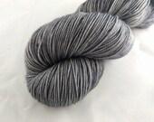Sock Yarn - Metallurgy Colorway - Merino Wool, Nylon Blend - Hand Dyed - Knit - Crochet - Fingering Weight