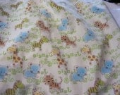 Fabric Scraps PUL Pieces for Diapers, Menstral Pads 11 ounces