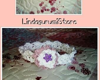 Crochet Baby headband, Crochet newborn headband Baby, kids headband, Crochet headband, Baby headband, Crochet headband Baby, headband flower