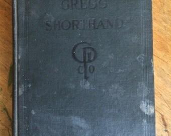 Antique Vintage Gregg Shorthand Book 1916
