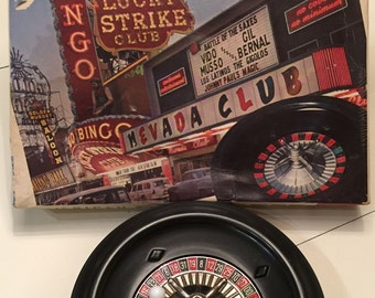 1960's Vintage ATC American Roulette Las Vegas Style Game made in Japan