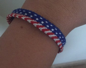 Stars and Stripes Bracelet