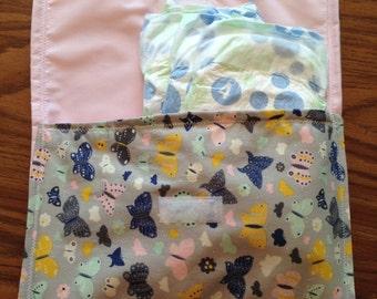 Butterflies Velcro pouch