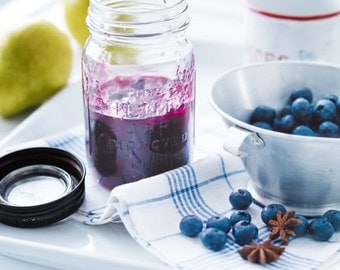 Hand Crafted  Blueberry Pear Jam