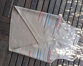 Hand made cross stitch women vest