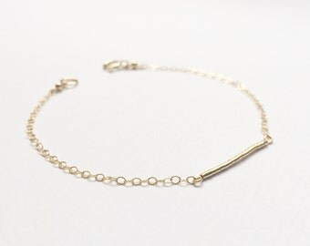 Beautifully Dainty Gold Bracelet