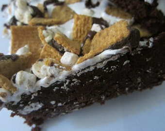 Some More S'mores Brownies (6 Chunks)