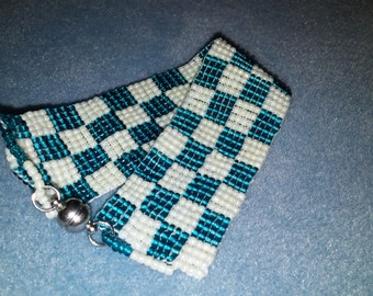 Checkered Turquoise