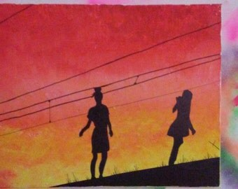 Silhouette on Canvas
