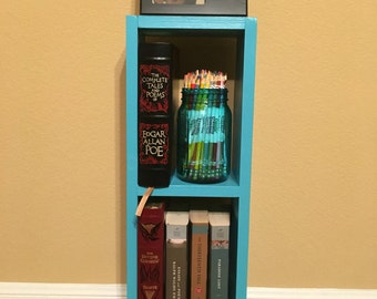 Wide Wall Mounted Open Back Shelf Unit Kitchen Shelves Or Dvd